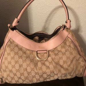 Gucci D ring tote